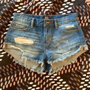 BDG denim boyfriend low-rise shorts